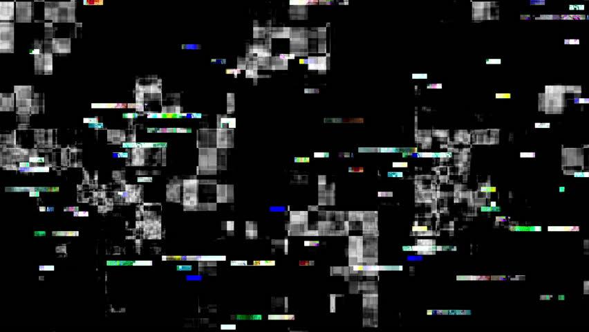 Digital video malfunction (Loop).   Shutterstock HD Video #23196256