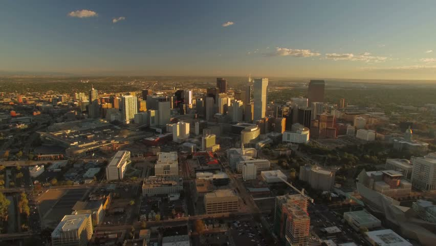 Aerial of Denver in Colorado.   Shutterstock HD Video #23205634