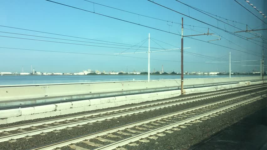 View from train leaving Venice, Italy | Shutterstock HD Video #23206471