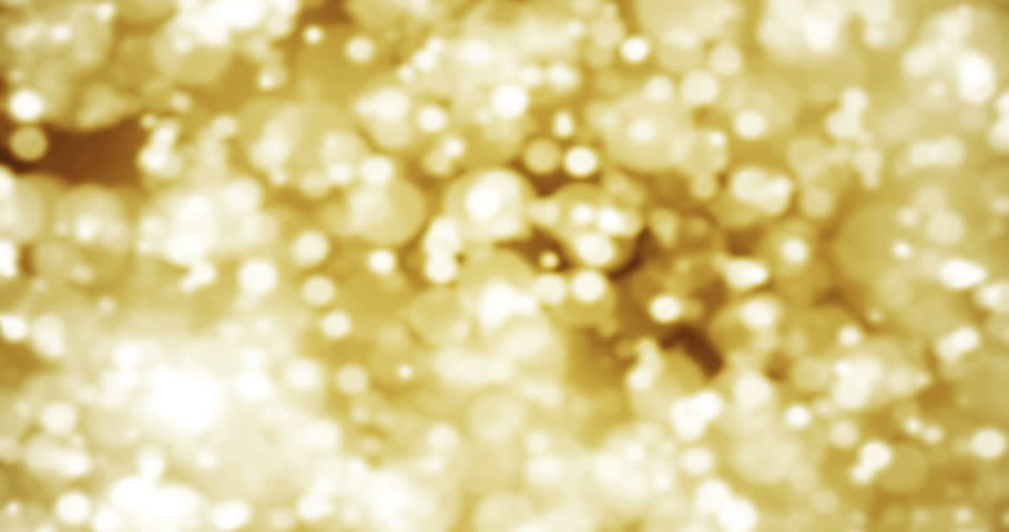 Christmas glitter golden sparkle background with bokeh, gold holiday festive event happy new year concept | Shutterstock HD Video #23210827
