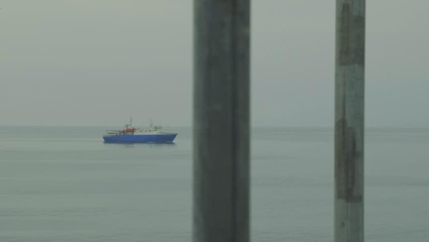 Ships Kunashir Island/ships Kunashir Island | Shutterstock HD Video #23213626