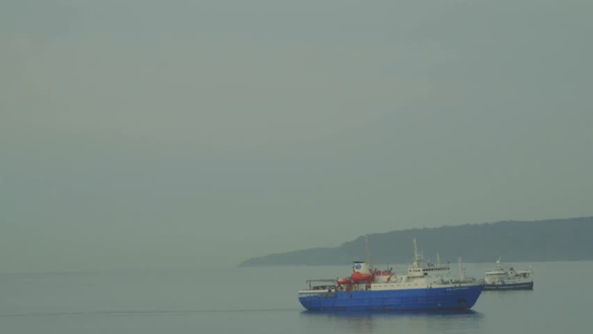 Ships Kunashir Island/ships Kunashir Island | Shutterstock HD Video #23213635