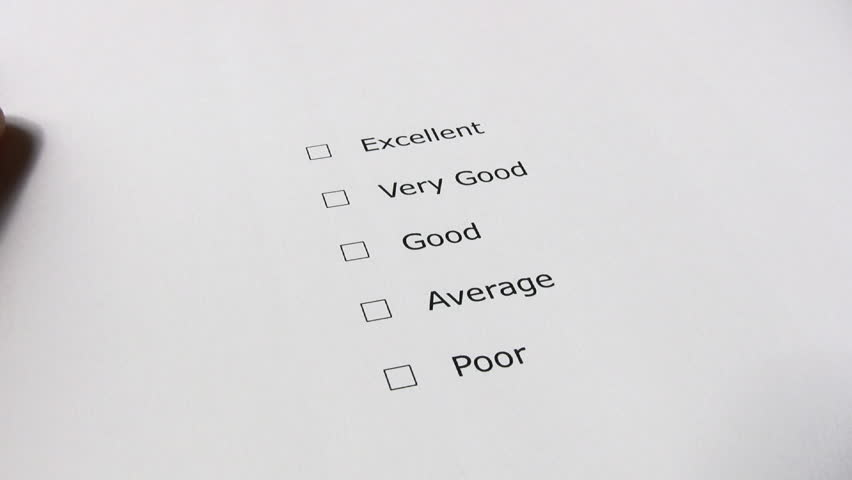 how to make a rating scale in word