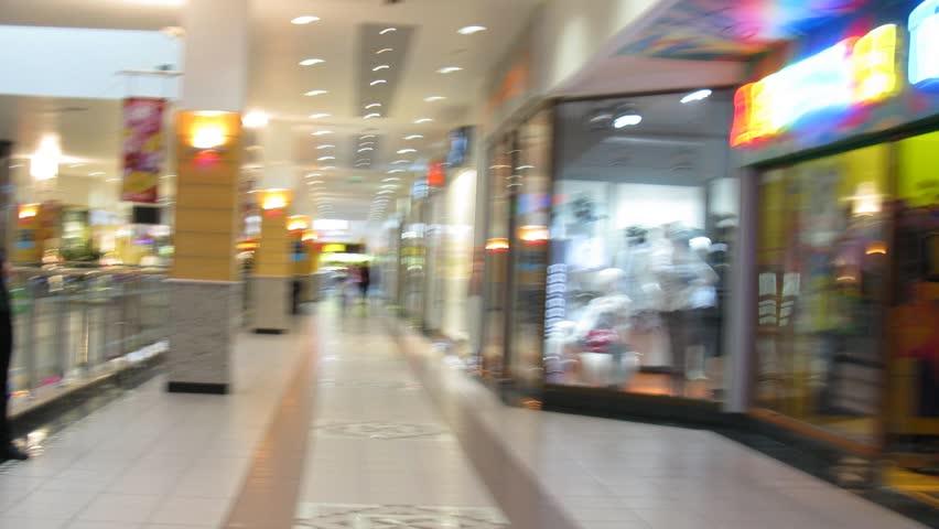 abstract shop timelapse . no logos. no faces. - HD stock video clip