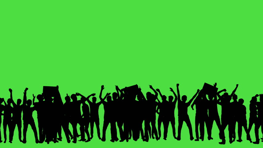 Crowd of fans dancing on green screen. Concert, Jumping, Dancing, Hands up. | Shutterstock HD Video #23566030