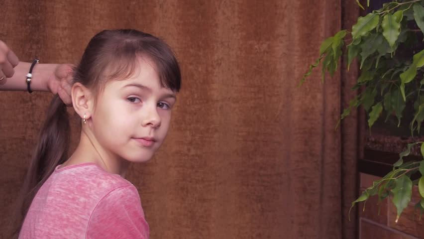 Make girl hairstyle | Shutterstock HD Video #23726518