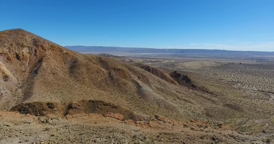 Aerial Drone Drop Off Cliff In Red Rock State Park In 4k 24fps  | Shutterstock HD Video #24116272