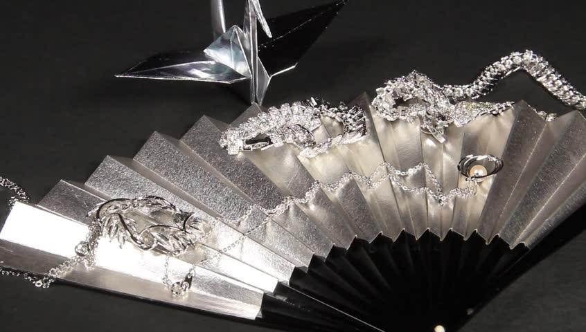 silver jewelry goods   Shutterstock HD Video #24125542