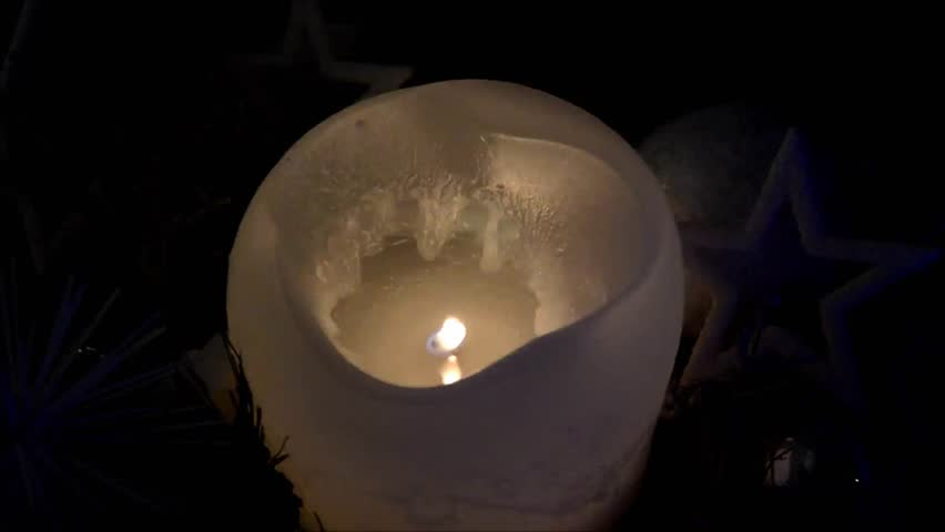 Christmas Candle | Shutterstock HD Video #24133588