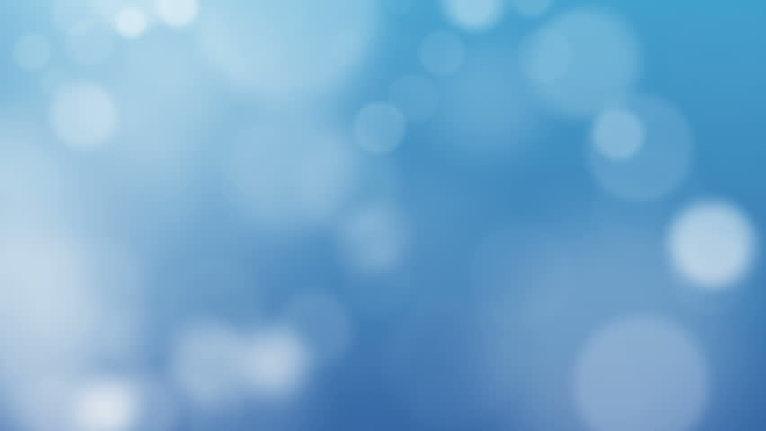 Blue Abstract Lights bokeh background loop 1080 - HD stock video clip