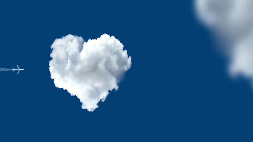 Love is in the air - HD stock video clip