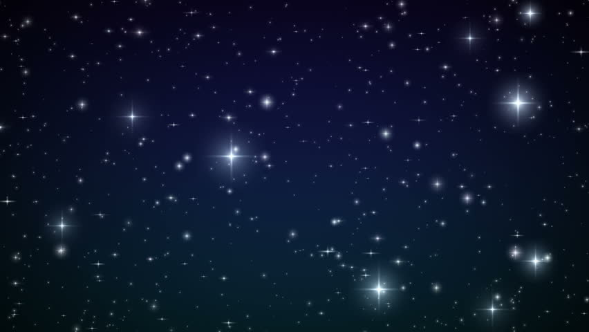 Stars in the sky looped animation beautiful night with twinkling flares hd 1080 stock - Images night sky and stars ...