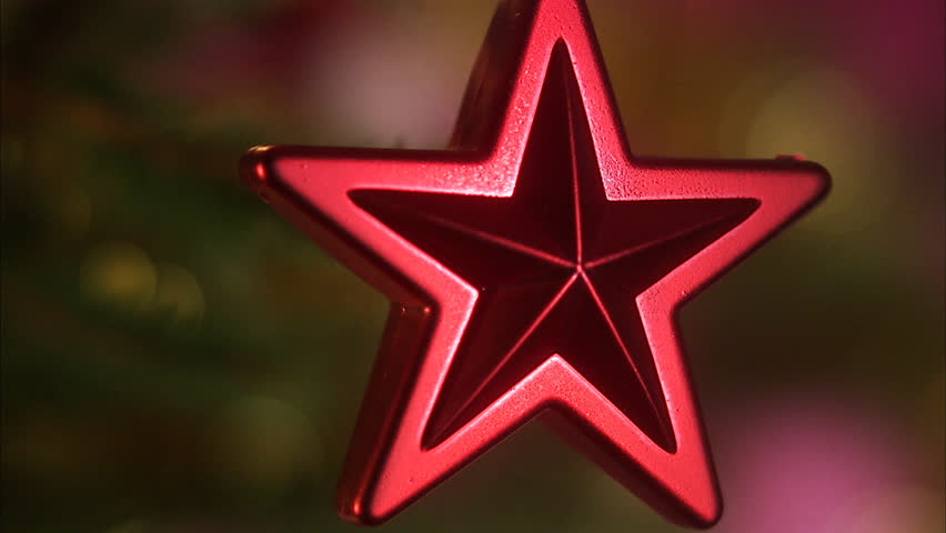 Detail of a Christmas tree.