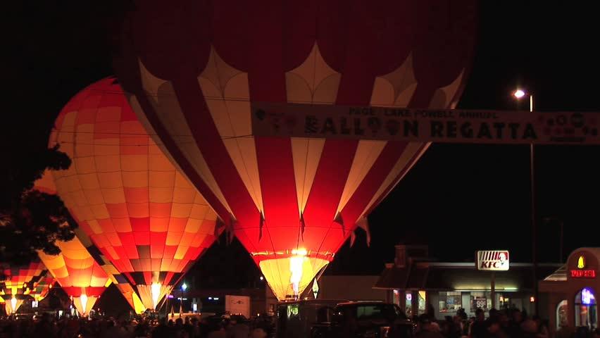 NEW MEXICO ALBUQUERQUE - CIRCA 2010: Hot Air Balloon ...