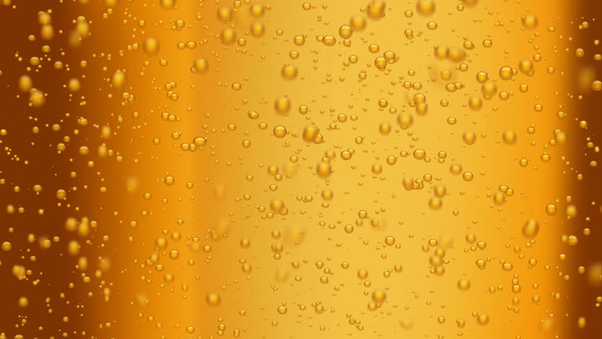 beer bubbles (seamless loop) - HD stock footage clip