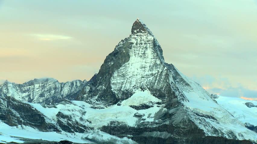 Morning sun over the Matterhorn,Switzerland #270556