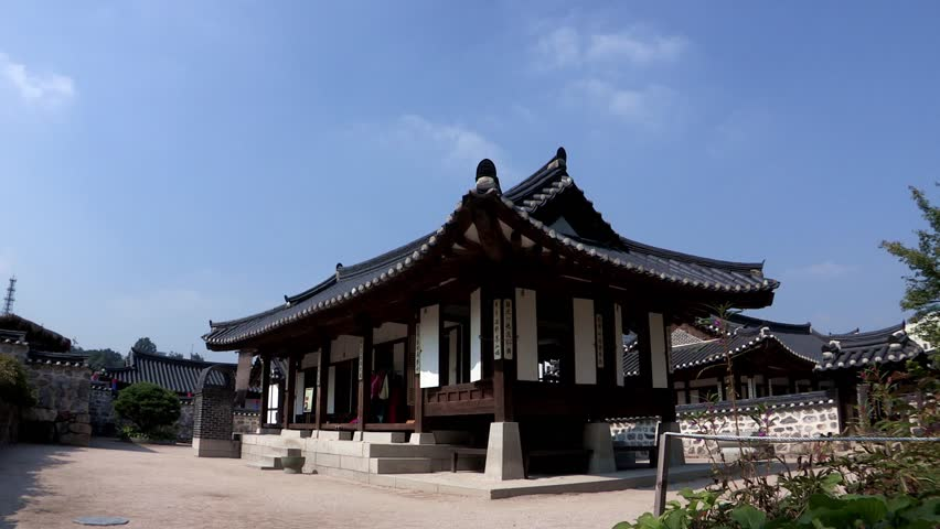 Seoul south korea circa 2012 view of traditional - Mansions in south korea ...