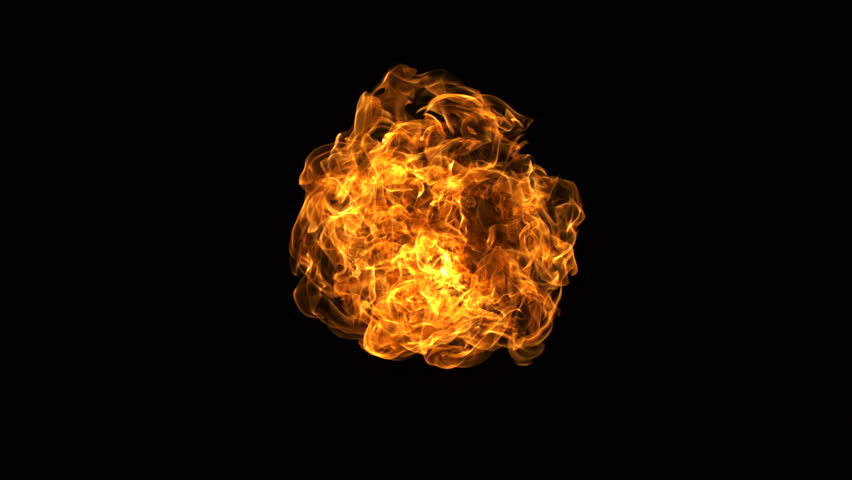 Fire ball explosion shooting with high speed camera, phantom flex.