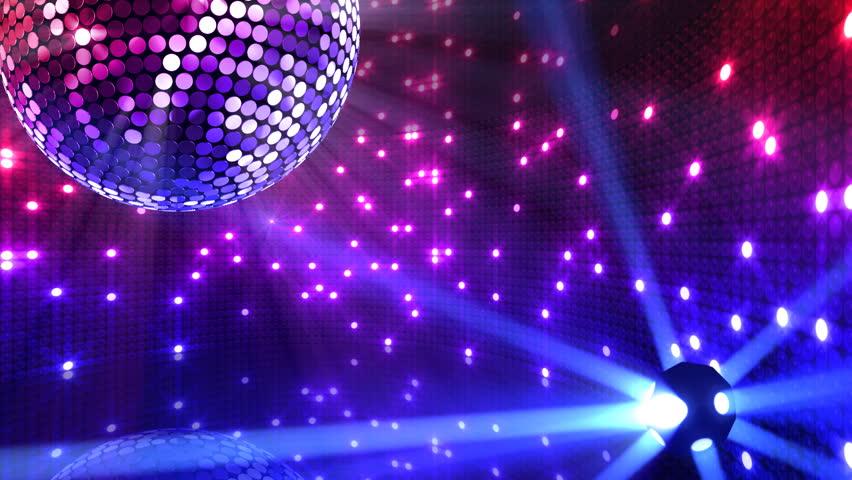 Disco mirror ball lights stock footage video 2865832 - Club lights wallpaper ...
