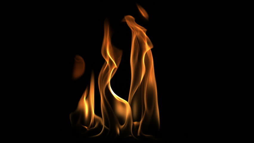 Fire flame shooting with high speed camera, phantom flex.