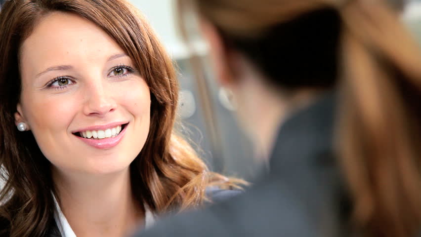 Ambitious female business consultants working on future client proposals