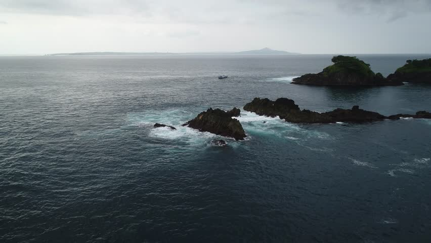 beautiful landscape at high seas #28724020