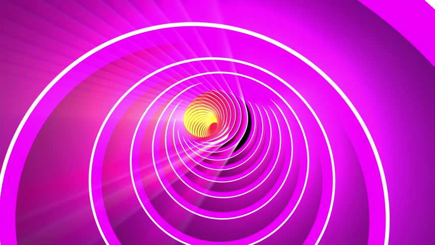 Fast Spectacular Colorful Rings Tunnel VJ Motion Background Loop 2 | Shutterstock HD Video #29007547