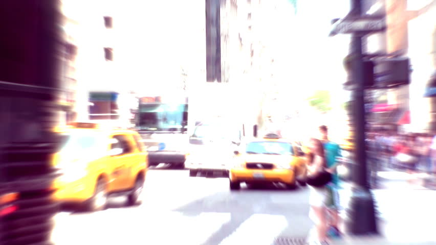 Time lapse in a street in New York in a Busy Day. Filters added. | Shutterstock HD Video #29205988