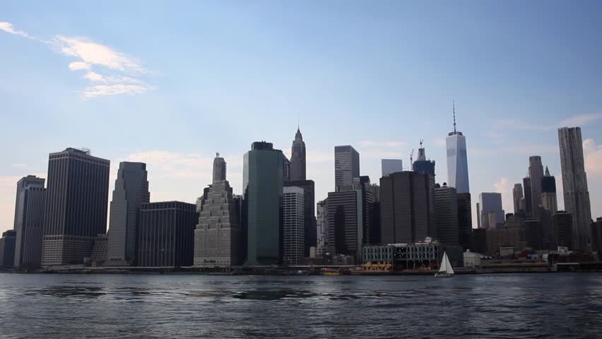New York City Skyline Time Lapse 02 | Shutterstock HD Video #29217697