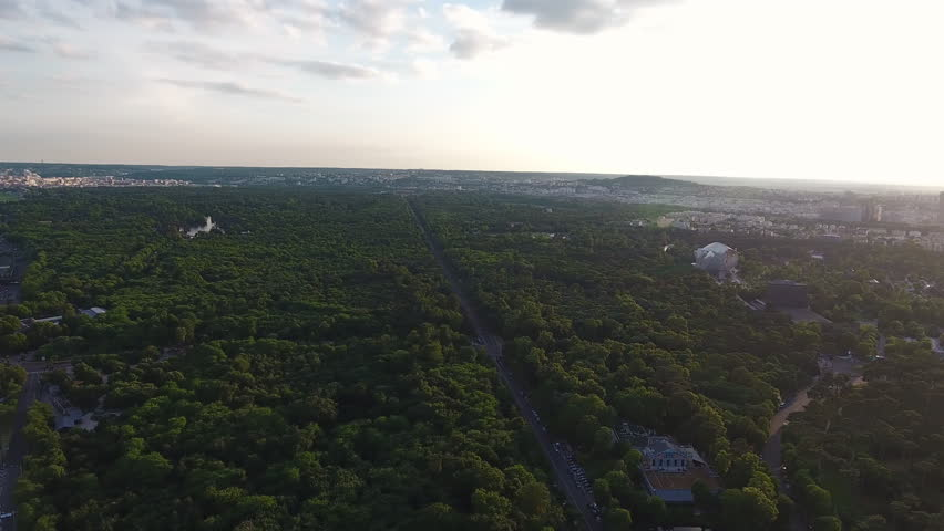 Paris Skyline Aerial View   | Shutterstock HD Video #29225824