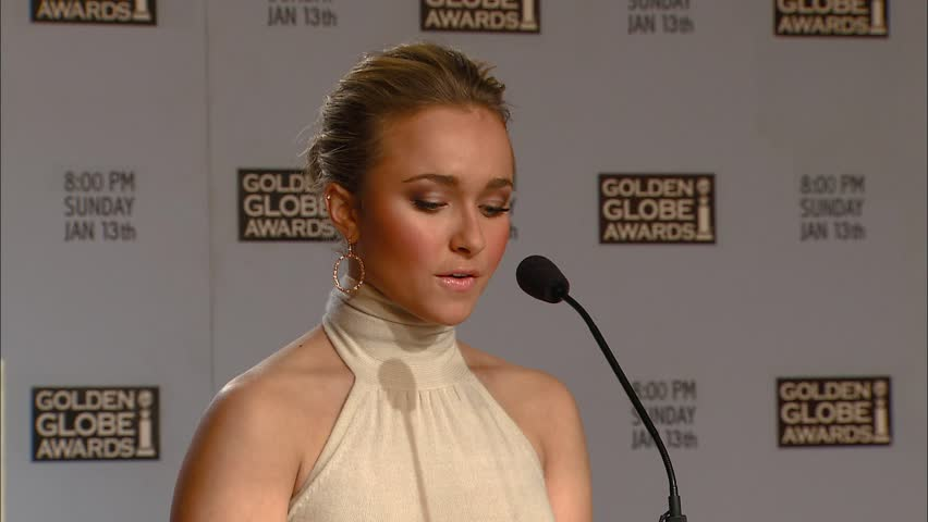 Beverly Hills, CA - DECEMBER 13, 2007: Hayden Panettiere, walks the red carpet at the Golden Globe Awards 2008 Nominations held at the Beverly HIlton Hotel