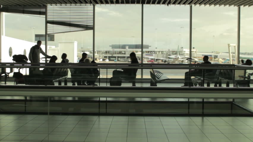 Header of Airport Terminal
