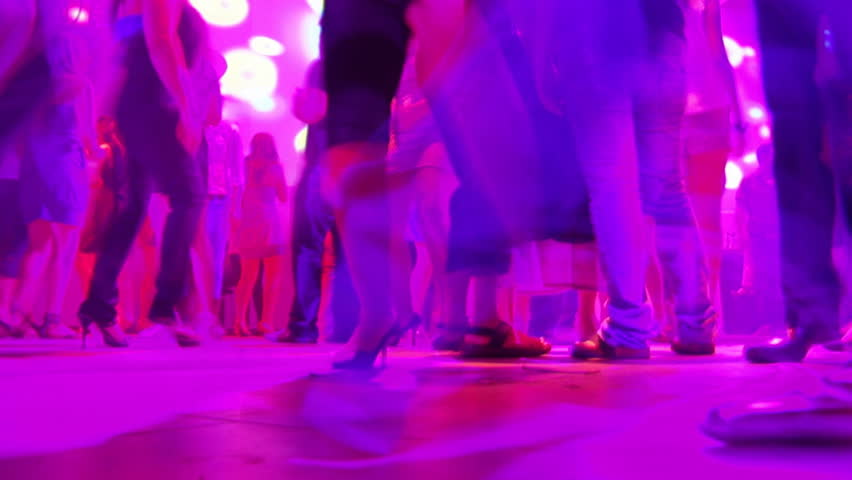 People dancing at discotheque - HD stock video clip