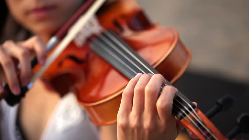 Close-up of musician playing violin, classic music | Shutterstock HD Video #3062401