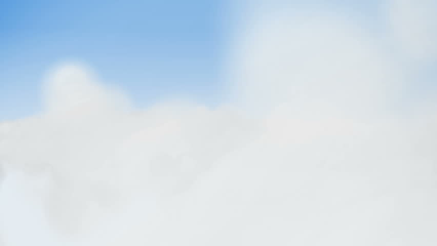 looping clouds - HD stock footage clip
