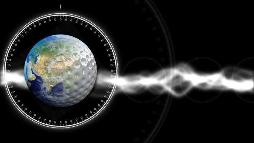Golf Earth Background 35 (HD) - HD stock footage clip
