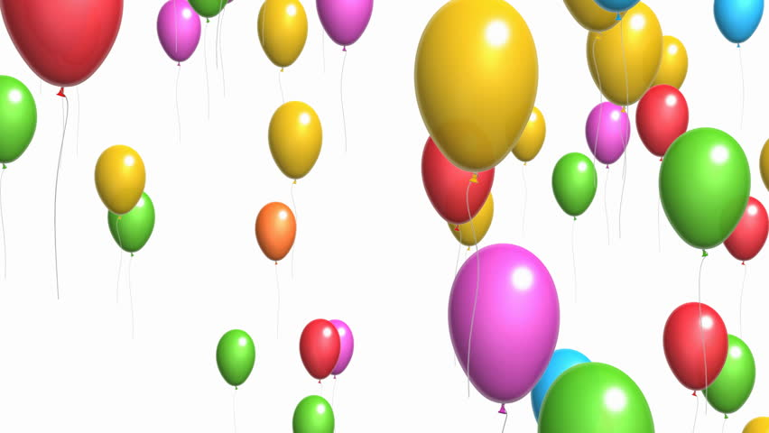 Animation Of Colorful Confetti Falling Stock Footage Video 4358978