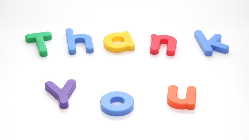 Thank You | Shutterstock HD Video #3193063
