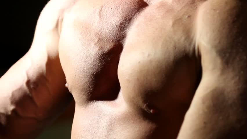 bodybuilder - HD stock video clip