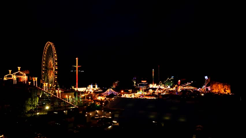 Carnival in Germany  - HD stock footage clip