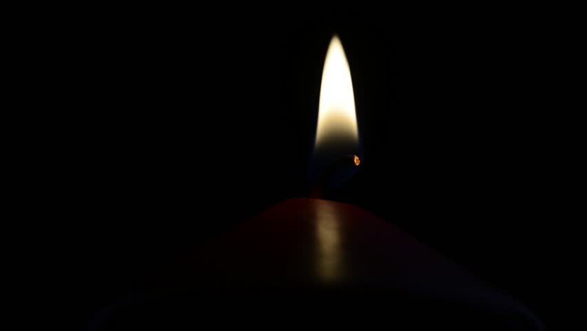 red candle black background - photo #36