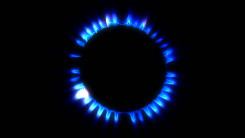 Ring of gas flames