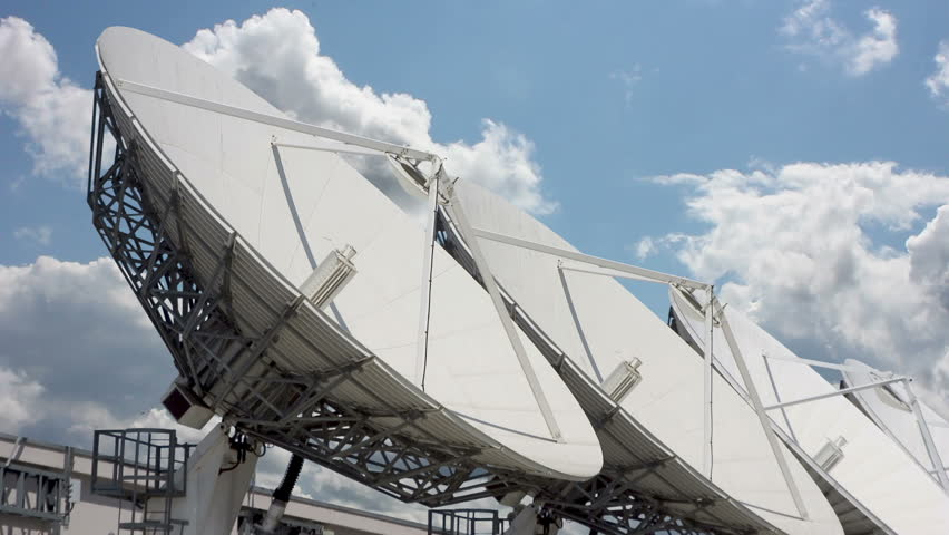 Satellite  - HD stock footage clip