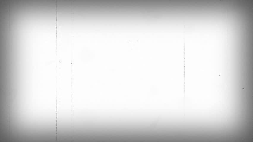 Film Vintage Background White Loop