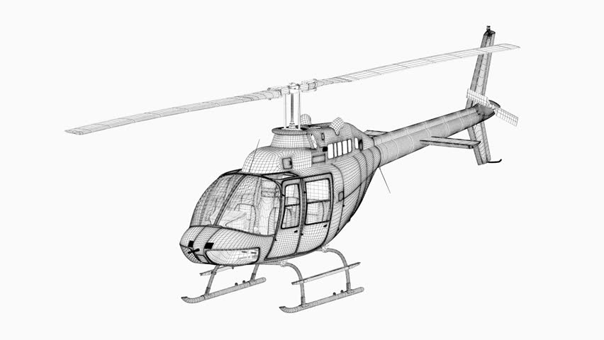 Helicopter Photo Frame Helicopter Wire Frame