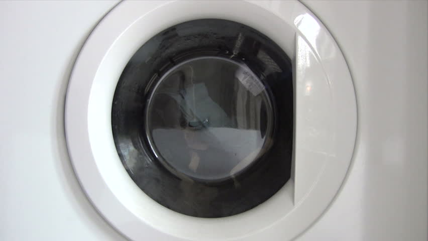 Emptying Washing Machine - HD stock video clip
