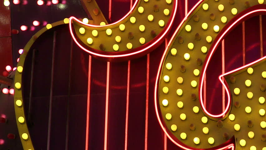 Neon Las Vegas sign
