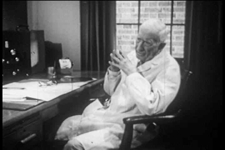 1940s, 1950s - Viewers learn about cancer through following a patient from diagnosis through recovery in this film produced by Encyclopedia Britannica Films. - SD stock video clip