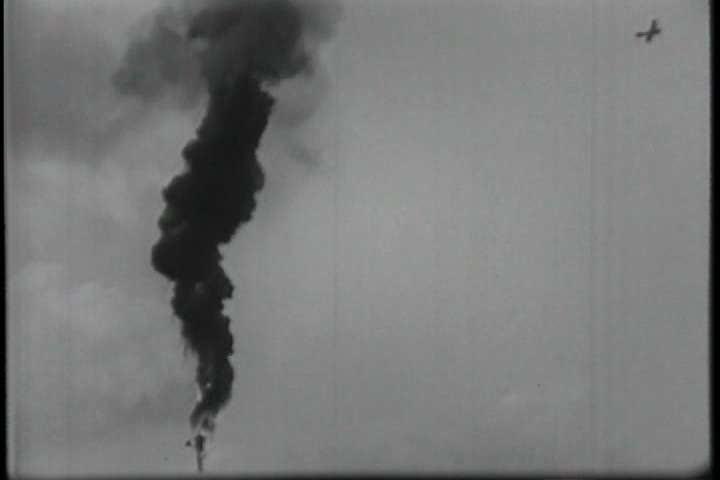 1910s - World War One air battles.