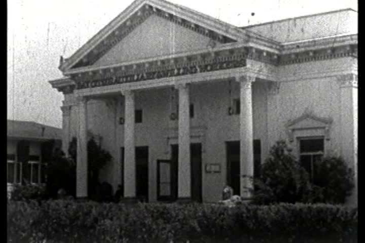 1930s - A 1930s era film depicting the Los Angeles Sanitarium and Expatients Home, operated by the Jewish Consumptive and Expatients Relief Association. | Shutterstock HD Video #4031260
